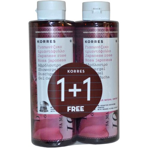 Korres Japanese Rose Showergel Buy 1 Get 1 Free 250ml