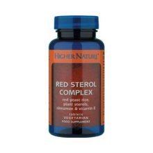Higher Nature 12% off Red Sterol Complex 90 Tablets