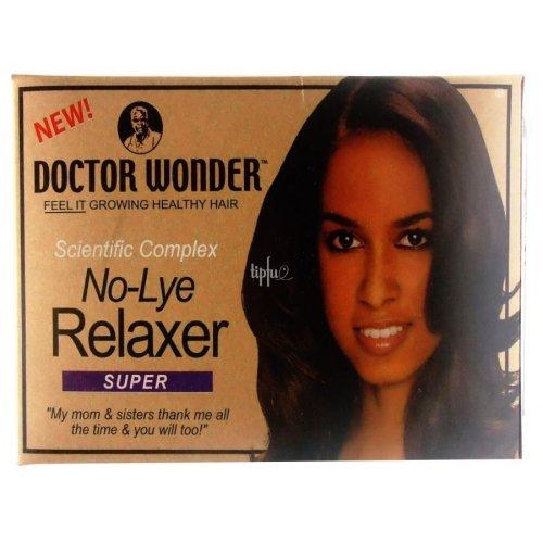 Doctor Wonder No Lye Relaxer Full Kit SUPER