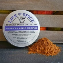American Apple Pie Spice - Life of Spice Gourmet Baking Spice (30g) - Cinnamon, Allspice, Nutmeg, Mace and Cloves…