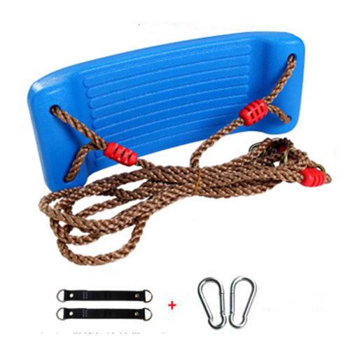 2-in-1 Snug 'n Secure Swing - Holds 331 Lbs Adjustable Hanging Ropes,#H