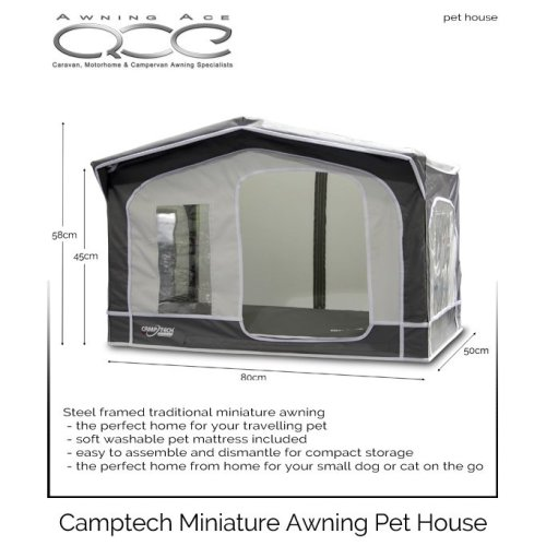 Traditional Awning Style Small Dog Pethouse
