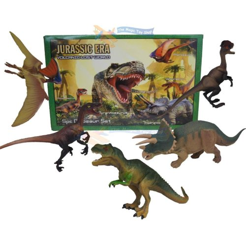 5 Piece Dinosaur Play Set