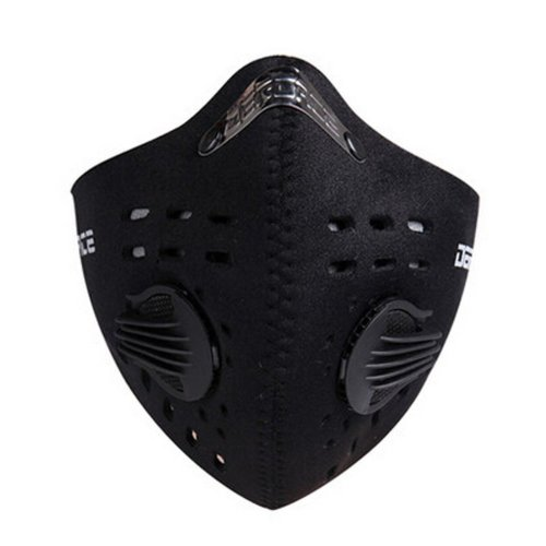 Fashionable BLACK Outdoor Dustproof Windproof Half Face Mask