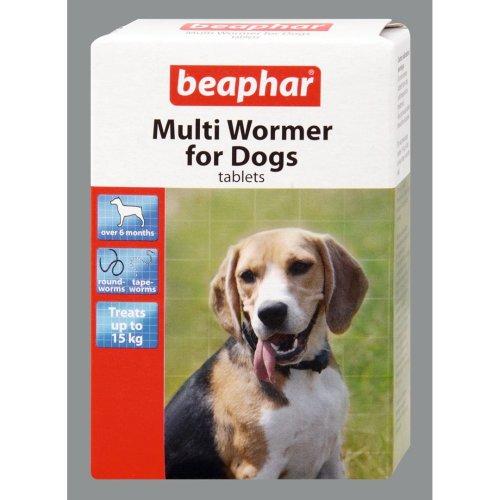 Beaphar Dog Multiwormer 12 Tablets (Pack of 6)