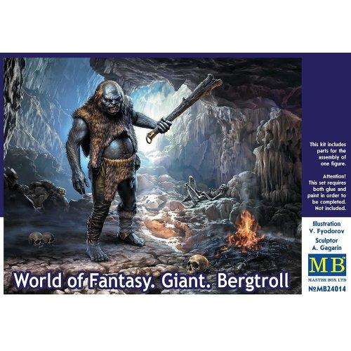 Mas24014 - Masterbox 1:24 - World of Fantasy. Giant Bergtroll