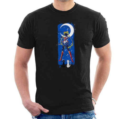 Inked Moon Sailor Moon Men's T-Shirt