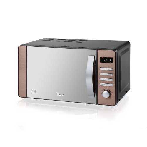Swan Products Digital Microwave 20 Litre - Copper (SM22090COPN)