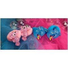 Dolphin & Seahorse Hair Bobbles -  dolphin seahorse hair bobbles wild republic bobblesx 4 childs animal
