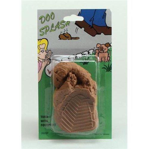Joke Dog Turd & Footprint - Poo Fake Fancy Dress Prank -  dog turd joke poo footprint fake fancy dress prank