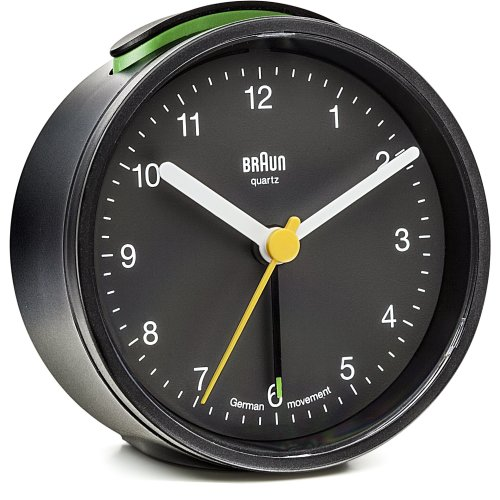 Braun BNC 012 Quarzalarm clock black