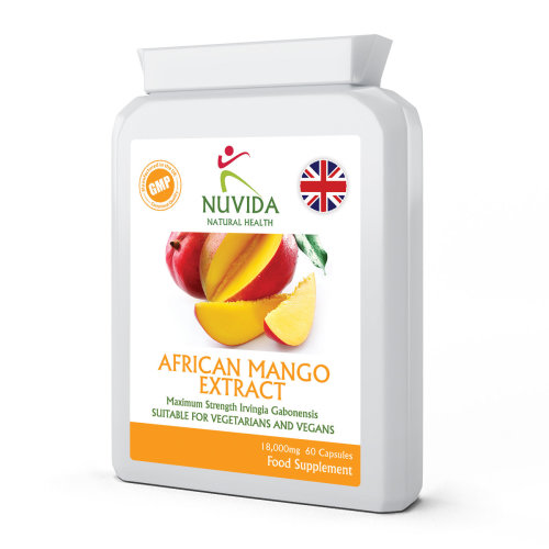 Pure African Mango / 18000mg / 60 Capsules / High Strength Extract
