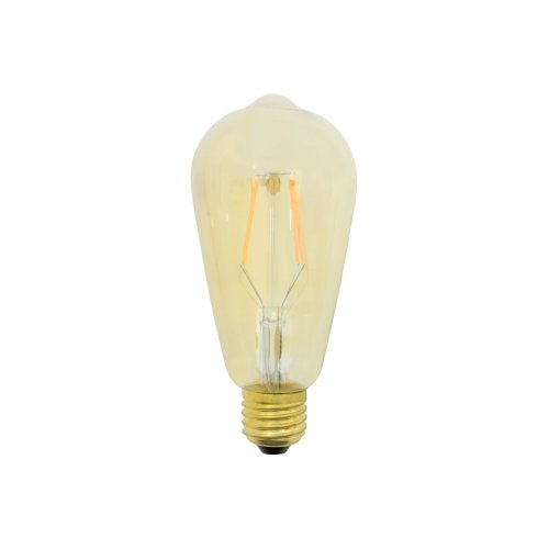 ST64 Filament LED Lamp with Tinted Glass
