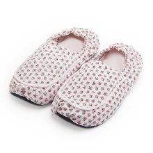 Pink Hot Pak Heatable Slippers - Intelex Hot Pak Slipper Pink 3-7 Microwavable Heatable Cosy Warm Slippers Scent