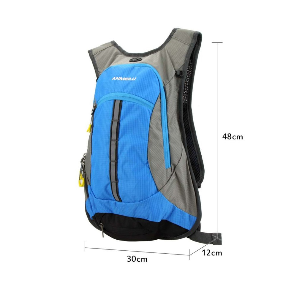 ... Lixada 15L Bike Backpacks Waterproof Cycling Backpack for Outdoor  Mountain Bicycle Travel Hiking Camping Running ... b7bb2bc7a4f35