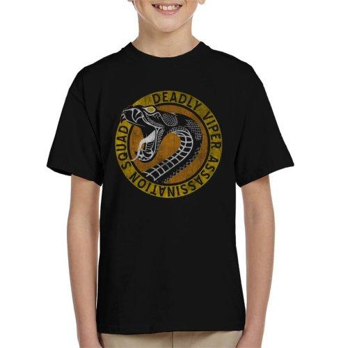 Kill Bill Deadly Viper Assassination Squad Kid's T-Shirt