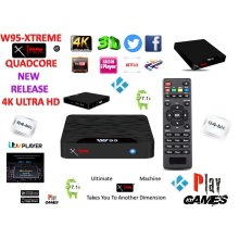 Android Tv Box Fully Xtreme 2018 Kodi tv boxes Pro Plus KODI 17.6 ultimate machine takes you to another dimension 4X CPU Marshmellow 7.1 AMLOGIC s905 cortex A53 64BIT 2Ghz Wifi 4K UHD H.265 Lan smart tv box quad core 8GB 2GB ULTRA HD Ethernet port, w