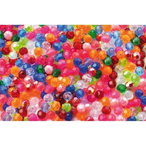 Pbx2470712 - Playbox - Plastic Beads (crystal) - 250 Pcs