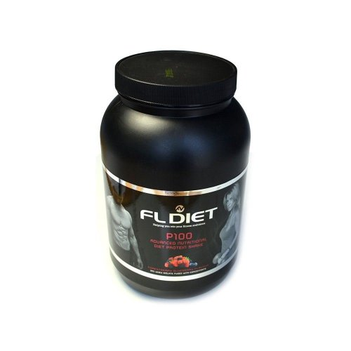 Fightline Diet Protein 100 Forestberry Blueberry Flavour 900g