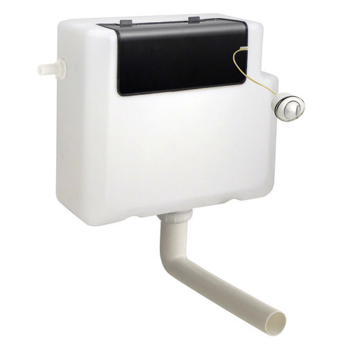 Dual Flush Concealed Toilet Cistern Front and Side Access