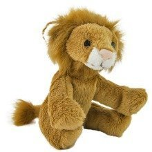 Petjes World Mini Lion Soft Toy 13cm