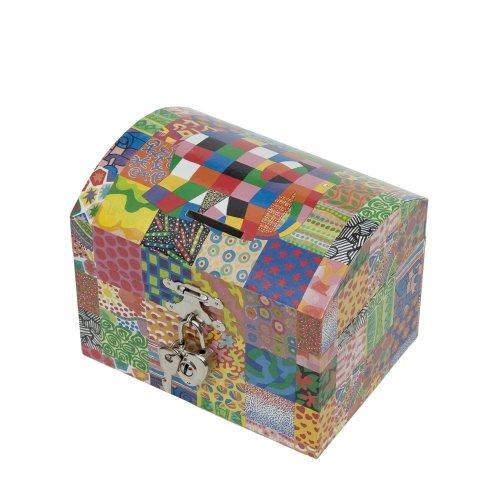 Elmer the elephant Trousselier Musical Moneybox