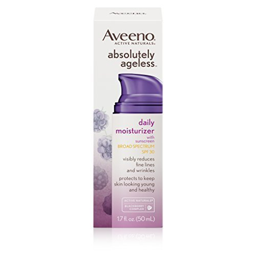 Aveeno Absolutely Ageless Daily Moisturizer With Sunscreen Broad Spectrum SPF 30, 1.7 fl. oz.