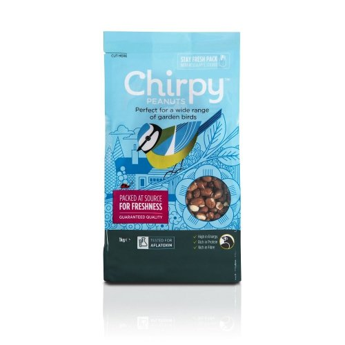 Chirpy Whole Peanuts, 1 kg