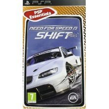 Need For Speed NFS Shift Game Essentials Edition Sony PSP Game