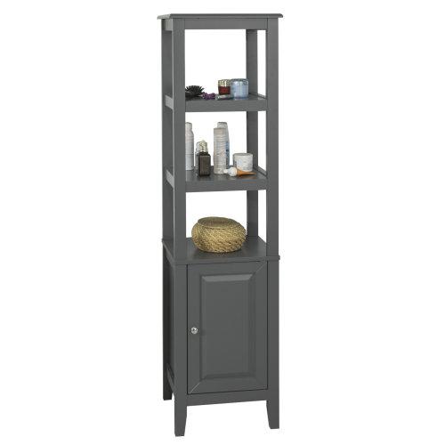 So Frg205 Dg Floor Standing Tall Bathroom Storage Cabinet