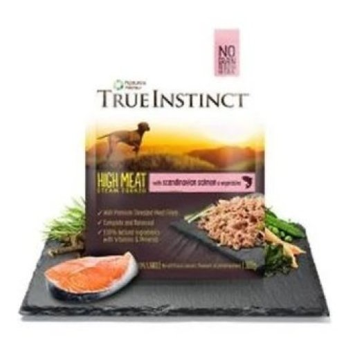 True Instinct Scandinavian Salmon Fillets for Small Breed Adult Dogs, 8 x 150g