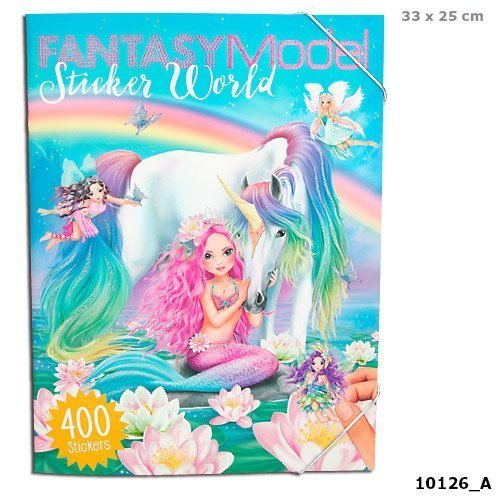 Depesche Create your Top Model Fantasy Sticker World
