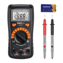 Multimeter, Tacklife DM02A Digital Multi Tester Auto-ranging Electrical Tester Portable Voltmeter Ammeter Ohmmeter with NCV, Backlit LCD, AC/DC...