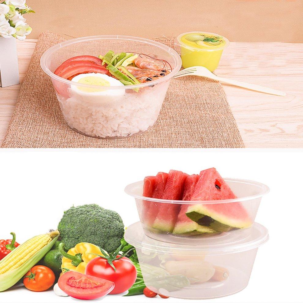 Plastic Containers Plastic Pots With Lids Vinida 50 Pack