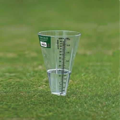 Rain Gauge Outdoor Garden Weather Rain Measuring Unit