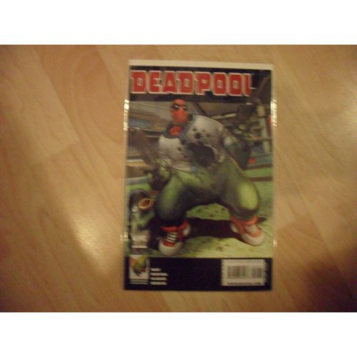 Deadpool 2008 #1 2nd Printing Variant Comic
