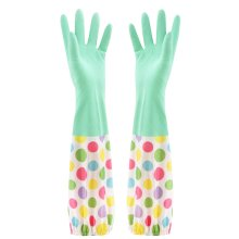 Waterproof Gloves Velvet Warm Cleaning Gloves Dish Washing Gloves -08
