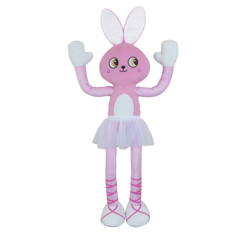 Stretchkins STR-BALBUN Ballet Buddy Bunny Plush Toy