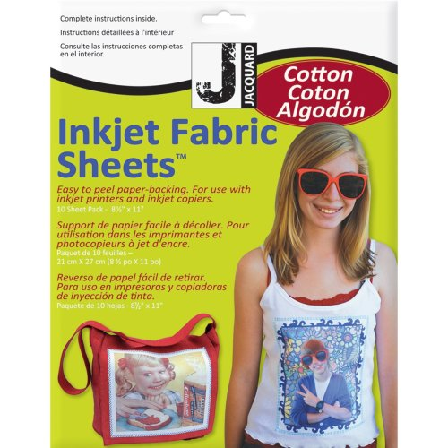 "Printed Treasures Ink Jet Fabric Sheets 8.5""X11"" 10/Pkg-100% Cotton Percale"