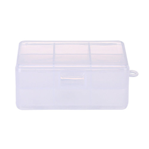 Two-Layer Portable Pill Case Medicine Storage Container 9 Compartments White