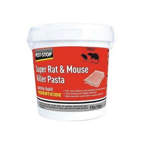 Pest-Stop Systems PSSA06 Super Rat & Mouse Killer Pasta Bait