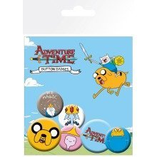 Adventure Time Jake Badge Pack
