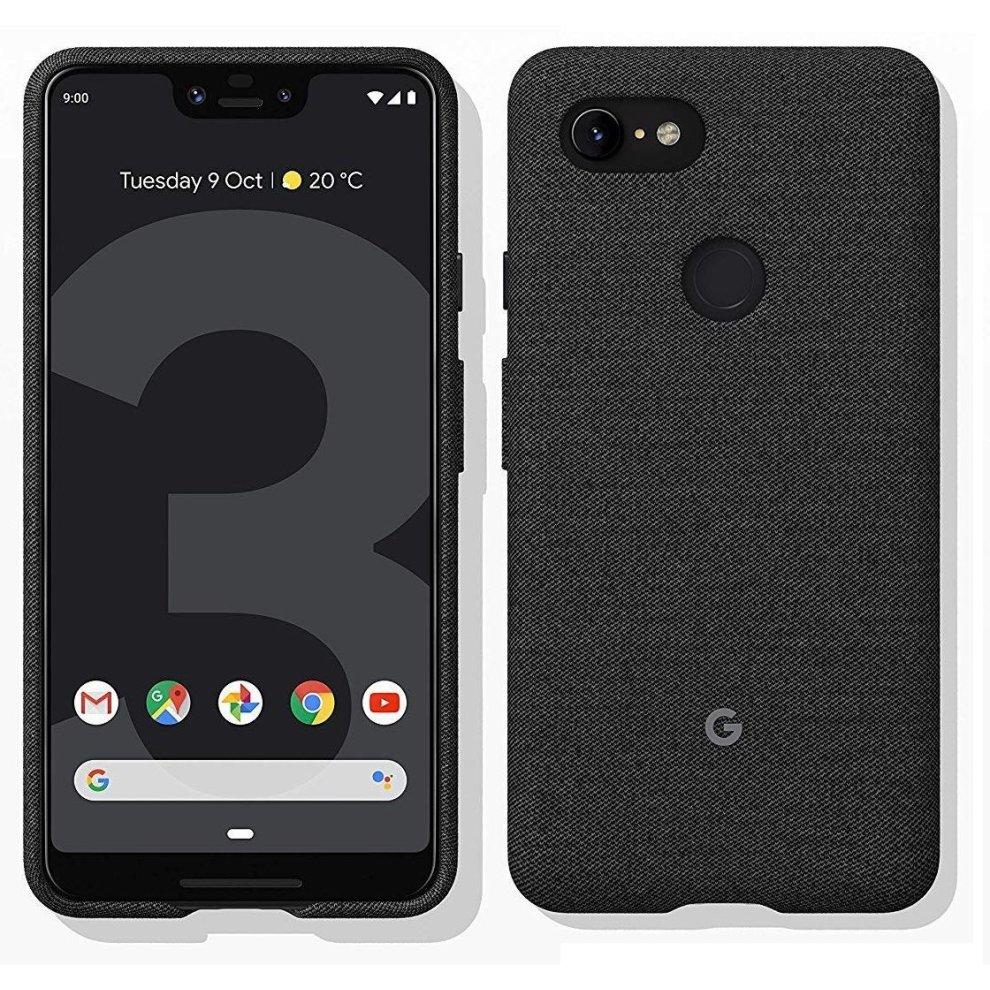 huge selection of 7ec9b ac17e Official Google Pixel 3 XL Fabric Case Cover - Carbon (GA00494)