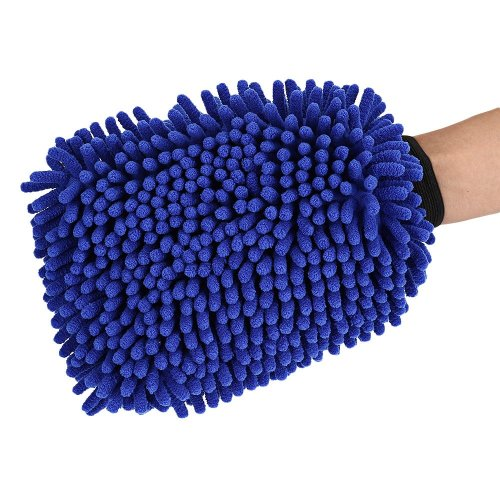 2 Pack Chenille Microfiber Car Wash Towel Glove
