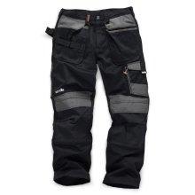 Scruffs 3D Trade Hardwearing Black Work Trousers