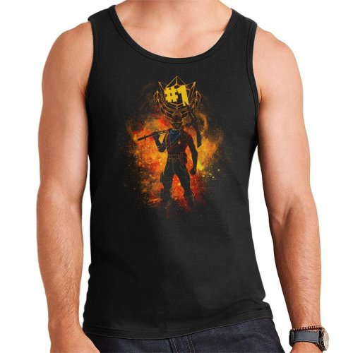 Rust Lord Spray Art Fortnite Men's Vest
