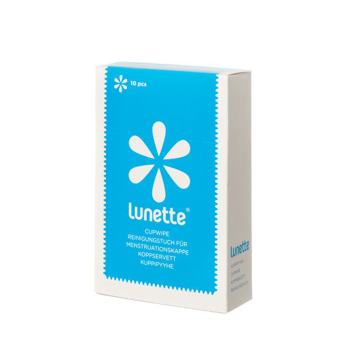 Lunette  Cupwipe 10 Pack