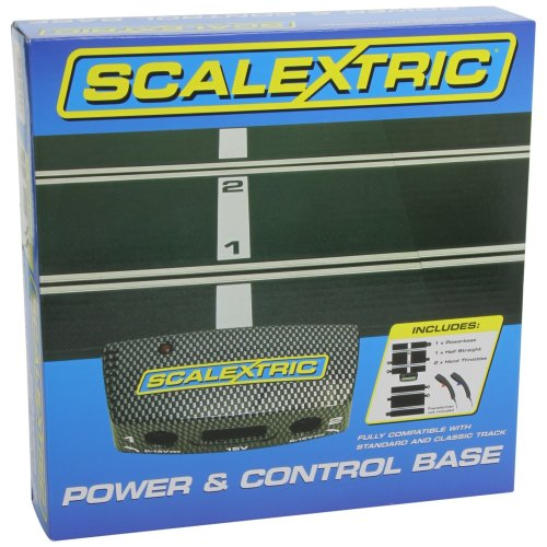 Scalextric C8530 1:32 Straight Power and Control Base Model