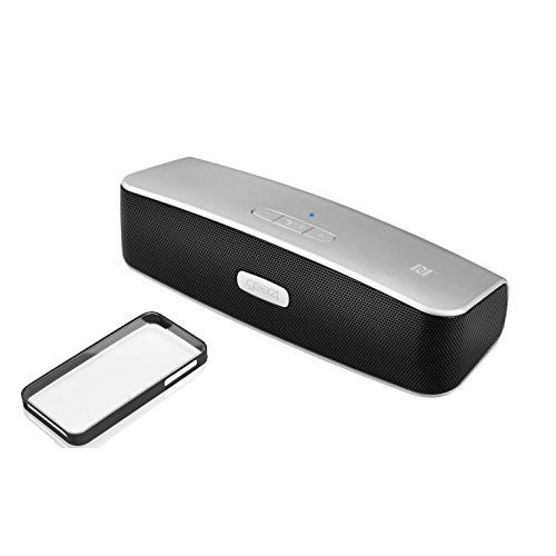 Gear4 Street Party Wireless Bluetooth Speaker Portable Compact Travel Rechargeable with Handsfree Mic Microphone Speakerphone and NFC Bundle -...