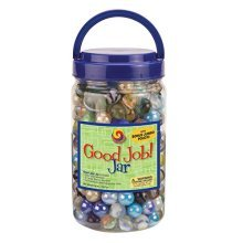 MegaFun USA Good Job Jar with Mega Marbles
